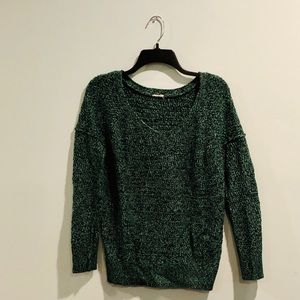 Green and Black Pacsun Sweater